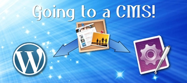 Move from iWeb to WordPress or a Lite CMS