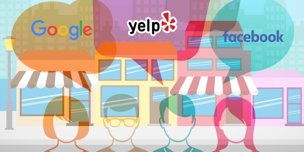 Yelp, Google, and Facebook Reviews